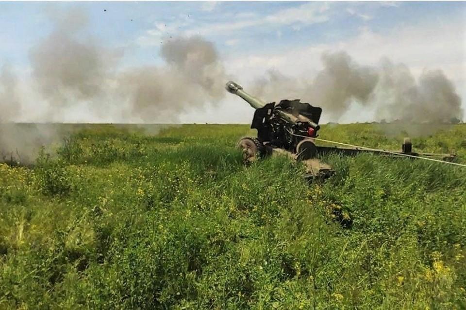 Республика оказалась под огнем тяжелой артиллерии. Фото: штаб «ООС»