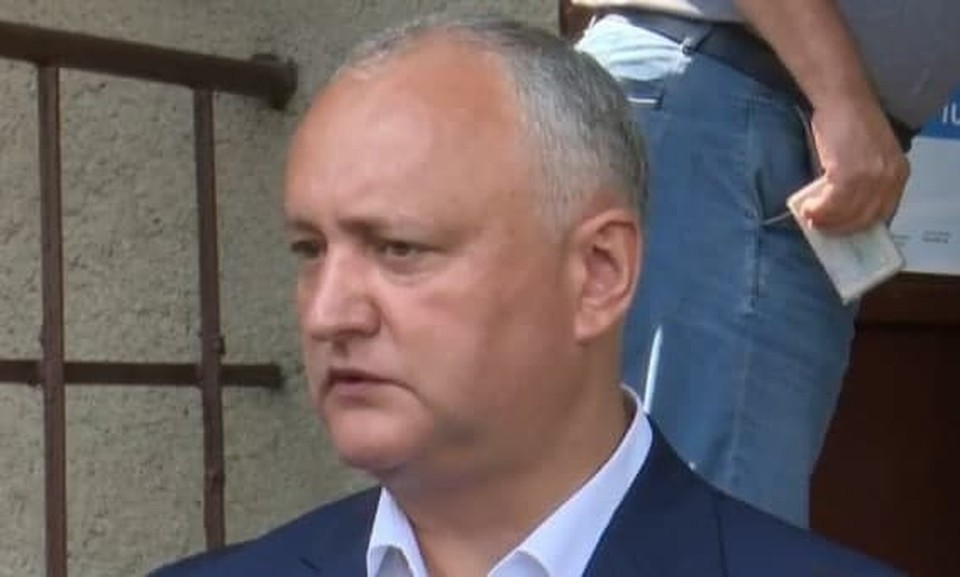 Игорь Додон исполнил свой гражданский долг.