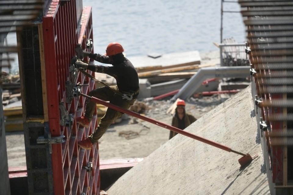 Работы продолжаются и по второму жилому комплексу – «Северный городок»
