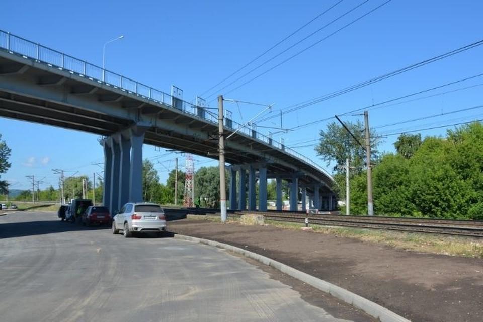 Обновленный путепровод в Зеленодольске. Фото: mindortrans.tatarstan.ru
