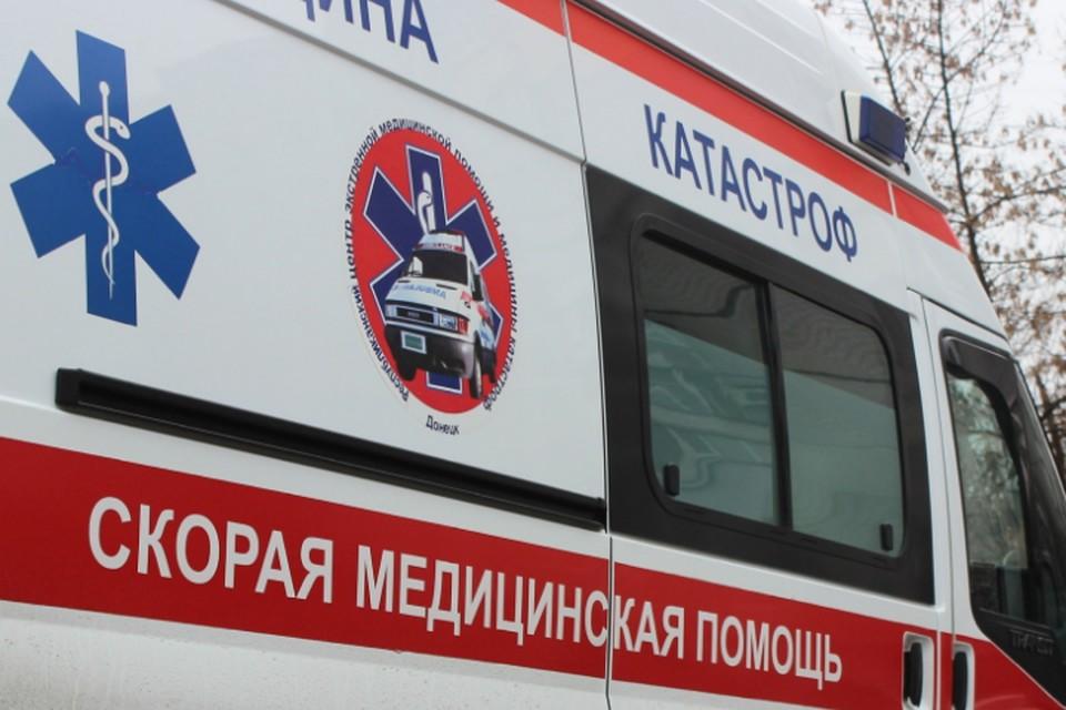 На машине «скорой» пострадавшего доставили в больницу