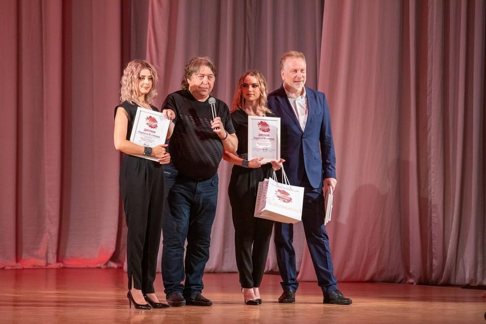 Наталья Качера и Маргарита Лисовина стали лауреатами третьей степени. Фото: Донецкая Муздрама