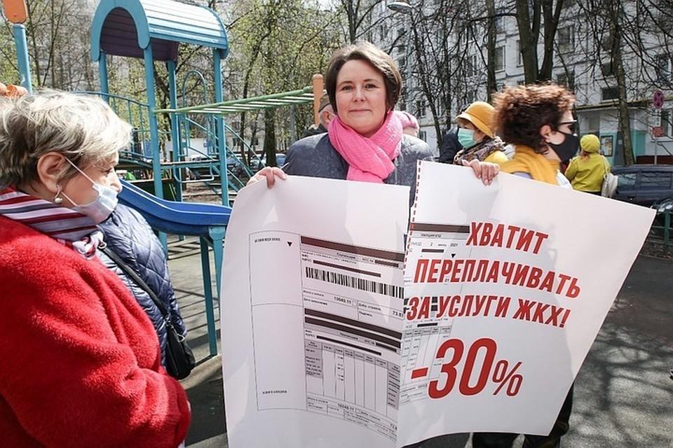 Правозащитница Светлана Разворотнева выдвигается в Госдуму по 201-му избирательному округу Москвы. Фото: Екатерина БИБИКОВА.
