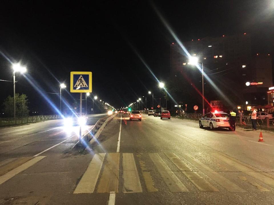 Мужчина решил перейти улицу на запрещающий сигнал светофора