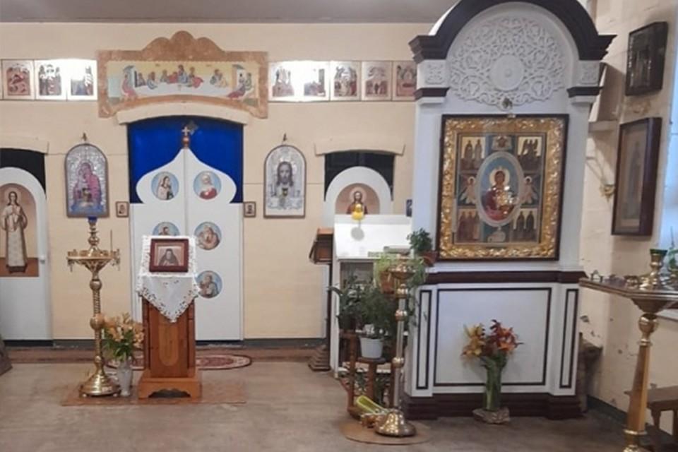 Мужчина украл пожертвования прихожан из храма в Твери Фото: УМВД России по Тверской области
