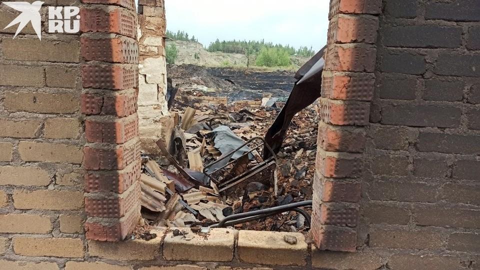 Полностью выгорело 53 строения в Джабыке, 10 – в поселке Запасный.