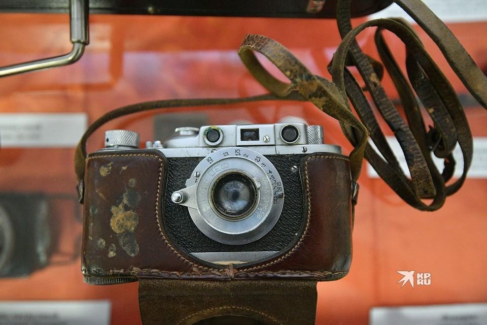 Фотоаппарат Семена Золотарева.