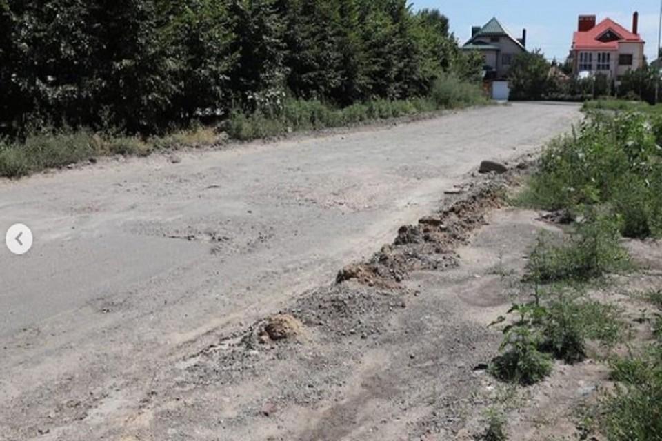 В Ростове отремонтируют дороги на двух улицах. Фото: аккаунт Алексея Логвиненко в Инстаграм