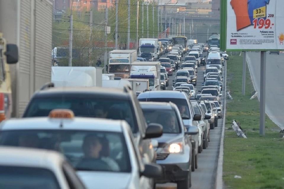 Рассказываем про пробки в Новосибирске на утро 14 июля 2021.
