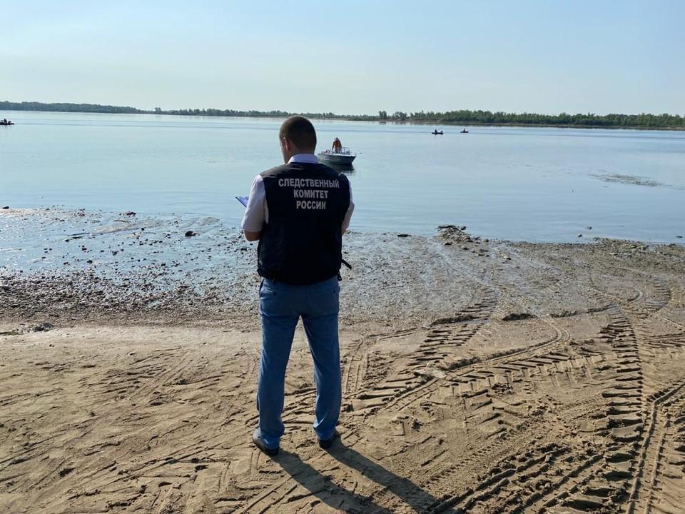 Утонувшего юношу нашли через три дня