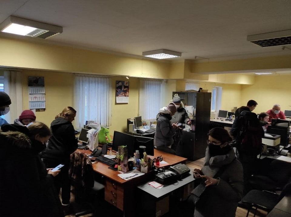 Череда обысков прокатилась по белорусским правозащитным и не только организациям. . Фото носит иллюстративный характер. Фото: t.me/bajby.