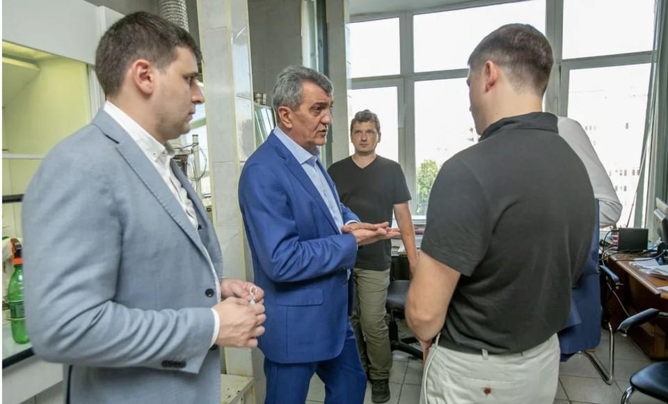 Фото: сайт главы РСО - Алания.