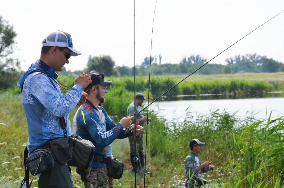 Фестиваль собрал 30 рыбаков из Ростовской области. Фото: МЕРКУЛОВА Ксения