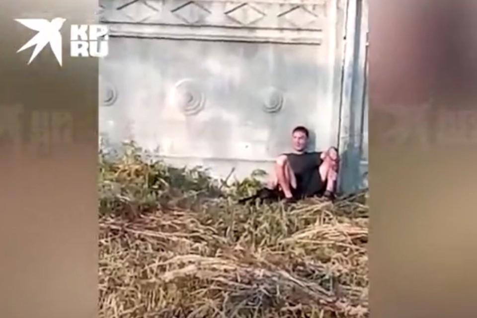 Неизвестный грозил устроить взрыв на станции Редкино под Тверью. Фото: стоп-кадр с видео «КП»