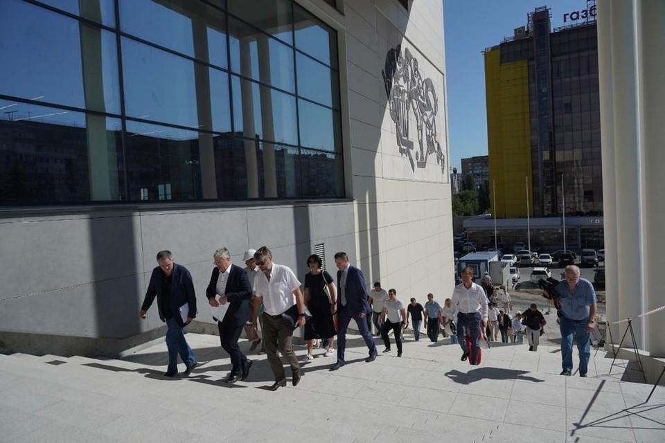 В Самаре достраивают Дворец спорта