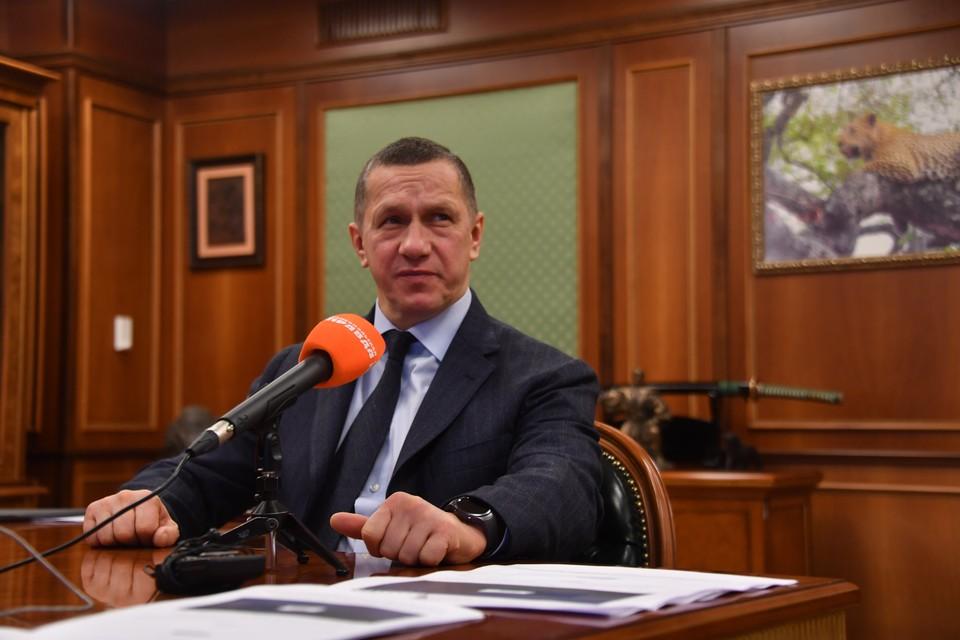 Заместитель председателя правительства РФ – полномочный представитель президента РФ в ДФО Юрий Трутнев