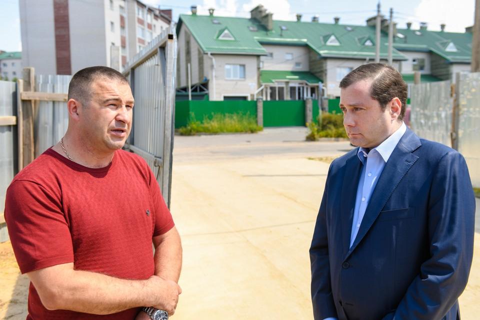Строительство школы в Соловьиной роще Смоленска отстает от графика. Фото: администрация Смоленской области.