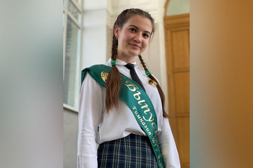 Анна Швалова показала блестящие результаты на экзаменах.