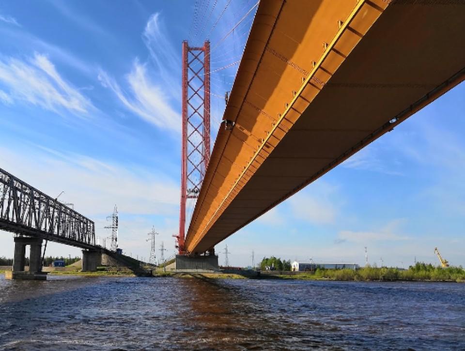 В Сургуте начали ремонт моста через Обь: движение транспорта ограничено Фото: google.ru/maps