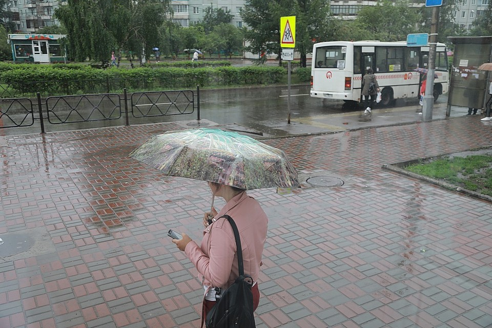 На грядущих выходных в Красноярске ожидаются дожди, грозы и похолодает до +22 градусов