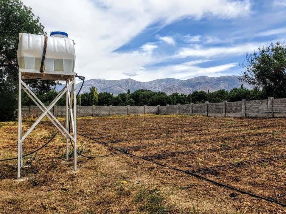 Оросительная система поможет повысить урожайность участка