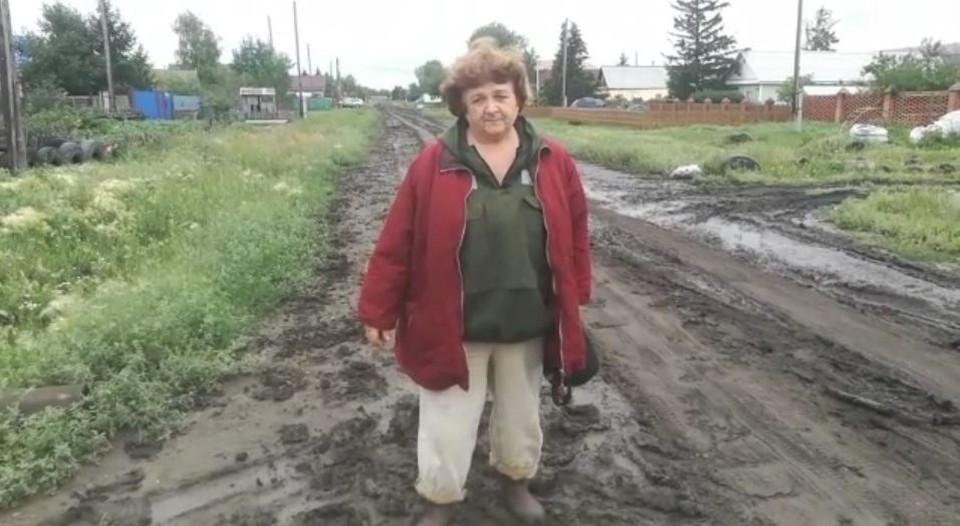 В дождь дорога превращается в кашу.