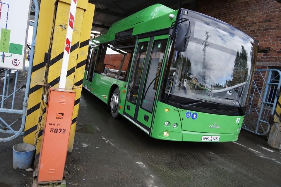 Автобус 042 маршрута временно будет ездить по измененному маршруту