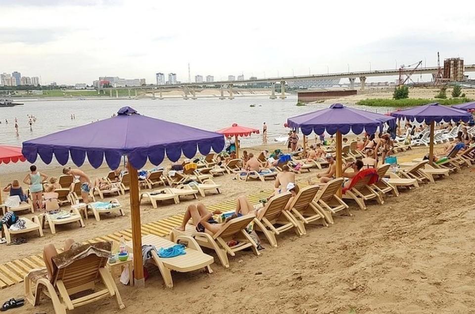 В Волгограде готовят к открытию третий пляж