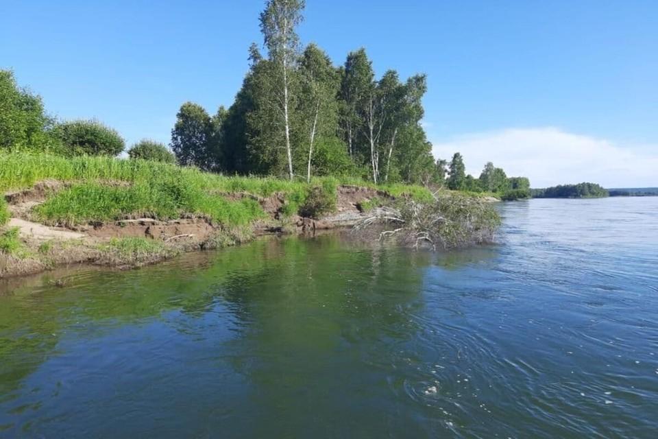 Место, где утонул мальчик