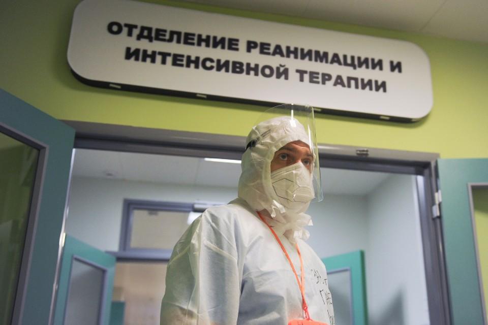 В реанимации находятся 162 «тяжелых» пациента.