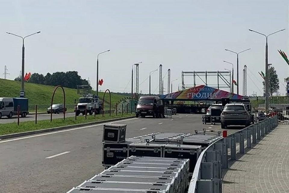 Открытие четвертого моста в Гродно снова перенесли. Фото: s13.ru