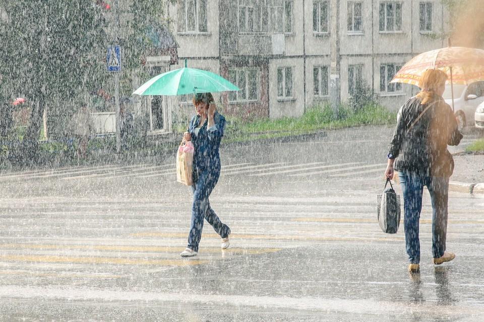 Сегодня будет жарко, но пройдут дожди