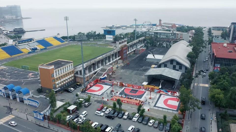 KFC-ARENA – новое место притяжения для любителей баскетбола во Владивостоке.