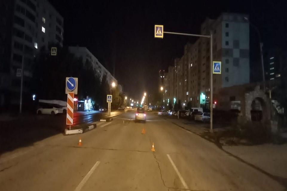 В Новосибирске иномарка сбила 16-летнего подростка на пешеходном переходе. Фото: ГИБДД по НСО.