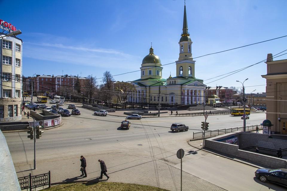 История произошла около Собора Александра Невского