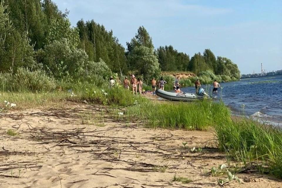 В Ярославле на глазах у сына утонул мужчина. ФОТО: читатель КП