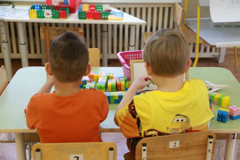 Сейчас в детском саду работают специалисты Роспотребнадзора