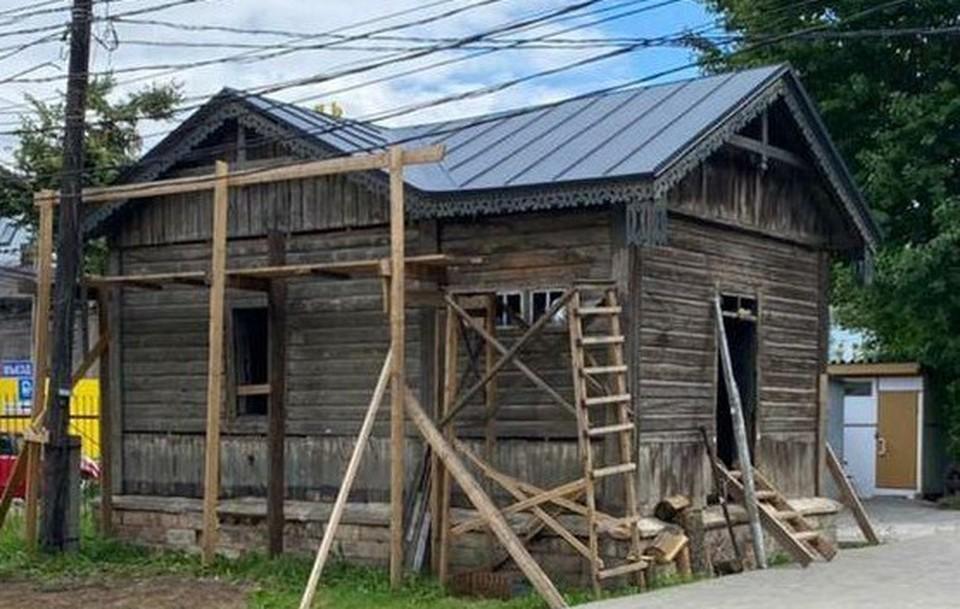 В Туле окончательно восстановили последнюю водоразборную будку 1894 года