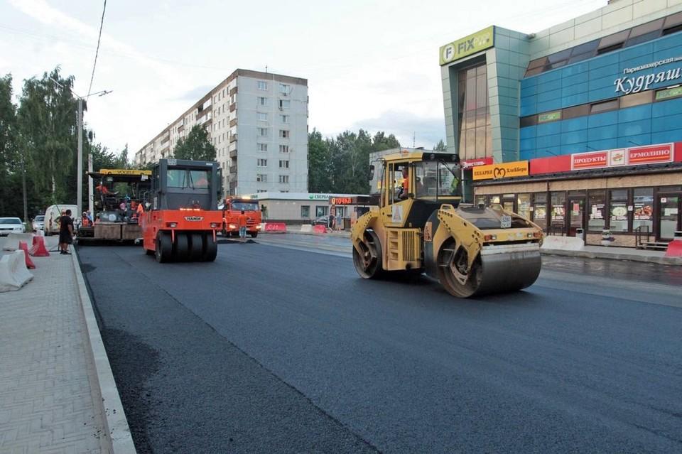 В Смоленске ремонт дорог начался в Промышленном районе города. Фото: пресс-служба администрации города Смоленска.