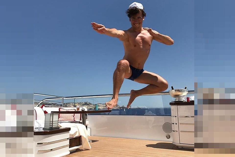 Максим Галкин продемонстрировал отличную физическую форму.