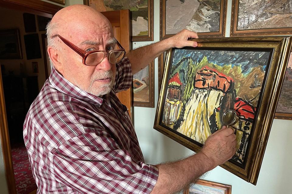Евгений Кошкин предлагает создать международную базу отпечатков пальцев художников разных эпох.