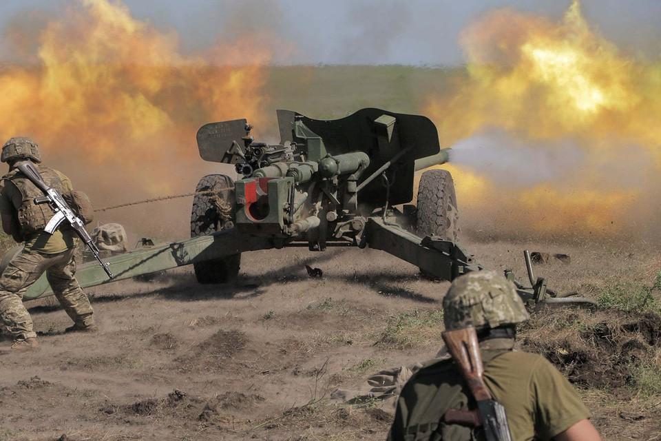Украинским боевикам «Минск» - не указ. Они ведут огонь по мирным городам и селам Республики из запрещенных вооружений. Фото: штаб ООС