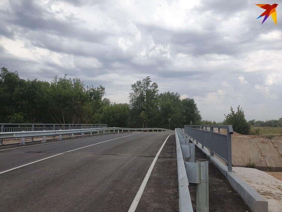 Обновленный мост может выдержать большегрузы со свиными тушами