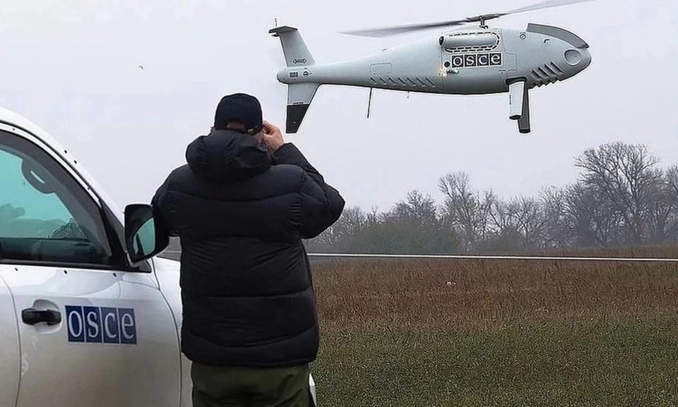 В украинской армии созданы подразделения для подавлении каналов управления и навигации беспилотников ОБСЕ. Фото: СММ ОБСЕ