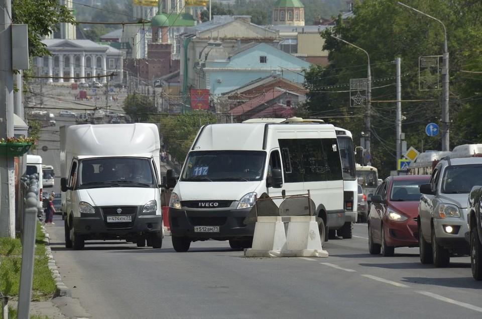 Администрация Тулы не рассматривает вопрос о сужении проспекта Ленина