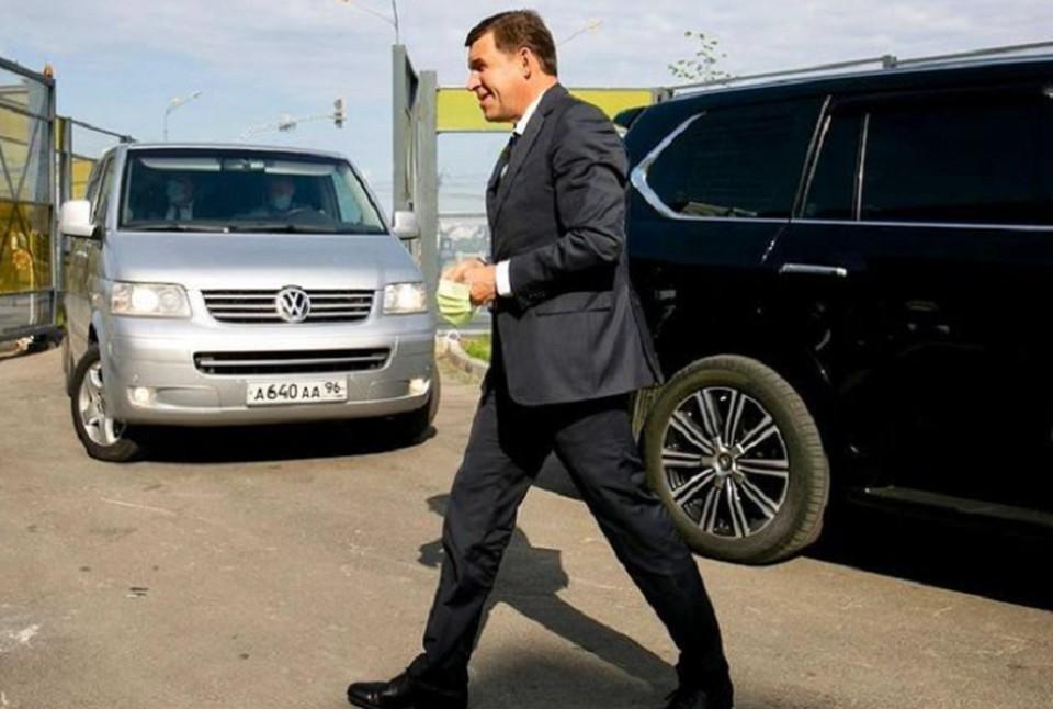 Губернатор Е:вгений Куйвашев решил помочь больницам