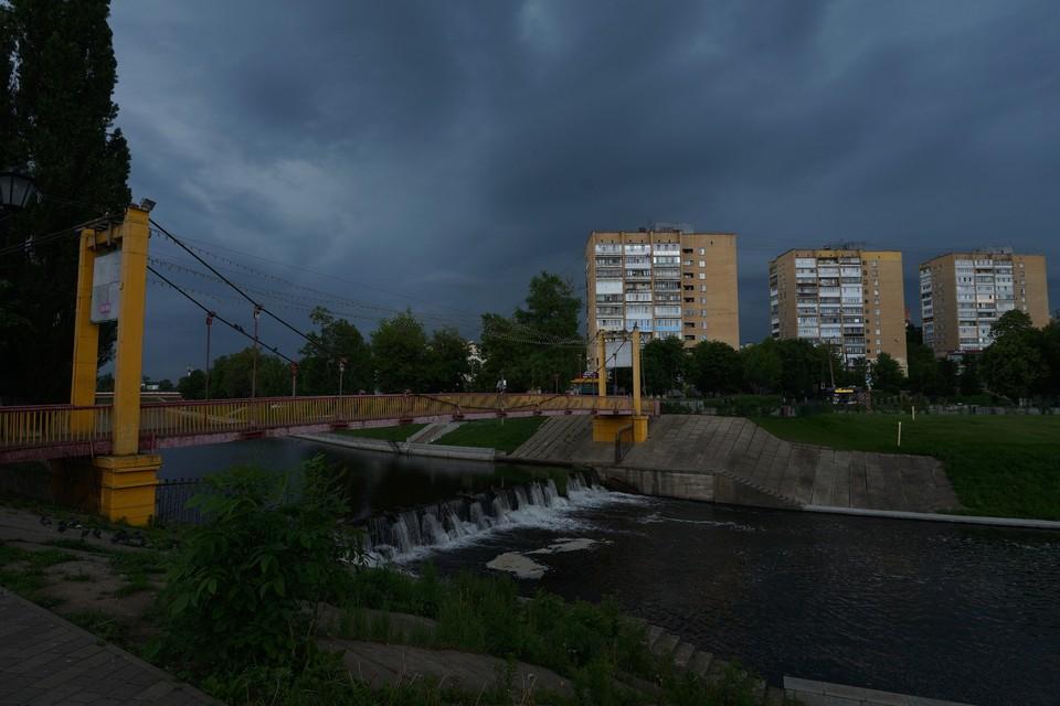 Синоптики прогнозируют в Орловской области грозы, дождь и сильный ветер
