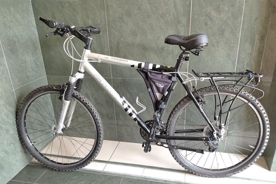У велосипеда, который конфисковали польские пограничники, кем-то был изменен номер рамы. Фото: podlaski.strazgraniczna.pl