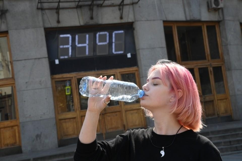 Такого жаркого 20 июля в Уфе еще не было