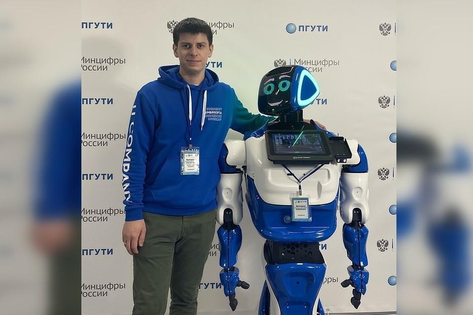 ПГУТИ, Степан Федоров и искусственный интеллект Фото SimbirSoft